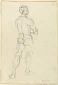 view Study of a Male Nude digital asset number 1