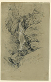view Huntington Falls, Upper Part, From Champney's Study digital asset number 1