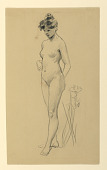view Standing Female Nude digital asset number 1
