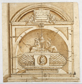 view Sepulchral Monument of a Prelate digital asset number 1