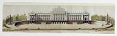 view Elevation of the Garden Facade of a Public Building digital asset number 1