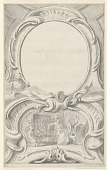 view Design for Frame Surrounding the Portrait of Sir Francis Walsingham digital asset number 1