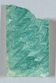 view Design for Decorated Paper: Green ZigZag Pattern digital asset number 1