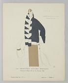 view Gazette du Bon Ton (Journal of Good Taste), Vol. 2, No. 10, La Dernière Lettre Persane (The Last Persian Letter), Plate 73 digital asset number 1