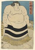 view The Sumo Wrestler, Koyanagi Tsunekichi digital asset number 1