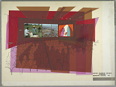 view Design for Union Carbide Exhibit Theater, Moscow, U.S.S.R. digital asset number 1