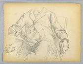view Study for Portrait of Hon. Robert C. Winthrop for the Historical Society, Mass. digital asset number 1