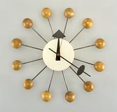 view Ball Wall Clock, Model 4755 digital asset number 1