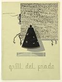 view Bull Behind Screen, Grill Del Prado digital asset number 1