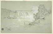 view Horseshoe Falls and Goat Island from the Canadian Bank digital asset number 1