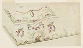 view Design for the Embroidery of a Man's Waistcost, No. 490 of the Fabrique de St. Ruf digital asset number 1