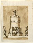 view Funeral Decorations for King Louis XVI of France digital asset number 1