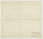 view Design for Bedroom Suite with Large Wall Clock, George C. and Eleanor Hutton Rand Apartment, 46 Washington Mews, New York, NY digital asset number 1
