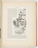 view A Pirate of the Air, The Officers Menagerie, Free Lunch, Illustrations for Scribner's Monthly (XVIII, No. 5, September 1879, p. 645) digital asset number 1