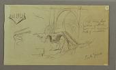 view Sketch of Old Bridge, Ponte Grande digital asset number 1