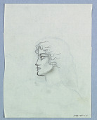 view Female Head in Right Profile on Shoulders digital asset number 1