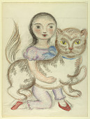 view Child with Cat digital asset number 1