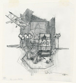 view Stage Design: Act II, Scene 2, for Merton of the Movies digital asset number 1