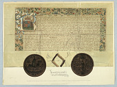 view Facsimile of the Original Charter Granted by King Richard III to the Worshipful Company of Wax-Chandlers of the City of London digital asset number 1