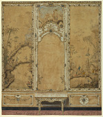 view Wall Decoration for the Drawing Room of the Palace of Caserta digital asset number 1