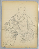 view Sketches for Mr. Winthrop's Portrait for the Historical Society, Mass. digital asset number 1