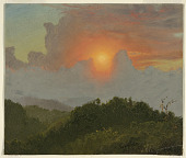 view Clouds and Sunset, Jamaica digital asset number 1