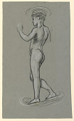 view figure study for a fountain design digital asset number 1