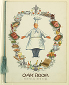 view Two Patrons and Doorman on Menu for Oak Room digital asset number 1