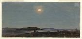 view Moon Rising over Porcupine Islands, Bar Harbor digital asset number 1