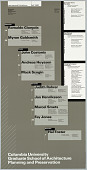 """view """"Fall 1988"""" poster for Columbia School of Architecture lecture series digital asset number 1"""