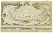 view Decorative Cartouche with a Lagoon Capricco digital asset number 1