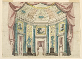 view Stage Design, Interior of Palace Hall digital asset number 1