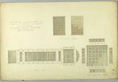 view Proposed Color Plan of First Floor Ceilings, United States Supreme Court Building, Washington, D.C. digital asset number 1