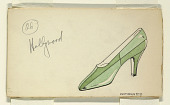 view Design for a Shoe, for Delman Shoe Company, New York City digital asset number 1