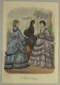 view Fashion Plate from Le Monde Elégant digital asset number 1