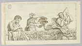 view A Satyr Boy Playing Flute, A Girl with Cymbols, a Woman with a Book digital asset number 1