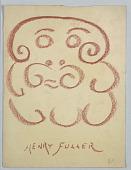 view Caricature of a Man, Henry Fuller digital asset number 1