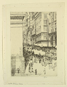 view Fifth Avenue, Noon digital asset number 1