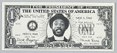 view Vote for Dick Gregory for President (One Dollar Bill) digital asset number 1