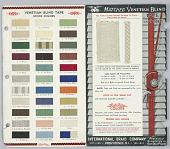 view Venetian blind tape sample card digital asset number 1