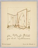 view Gazette du Bon Ton, Vol. 2, No. 9, pages de Croquis, Plate 42 digital asset number 1