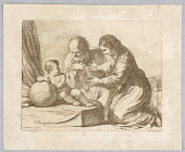 view Virgin Mary, Joseph, and Child, with a Globe digital asset number 1