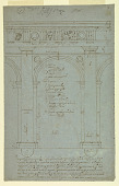 view Elevation of a Portico of Doric Order digital asset number 1