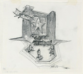 view Stage Design: Act I, Scene 2, Reception Room, for Merton of the Movies digital asset number 1
