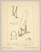 view Gazette du Bon Ton, Vol. 2, No. 9, pages de Croquis, Plate 44 digital asset number 1