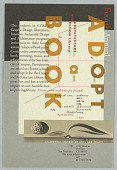 """view Fourth Annual """"Adopt-a-Book,"""" California College of Arts and Crafts, April 20, 1992 digital asset number 1"""