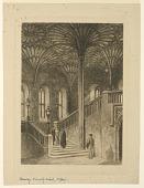 view Stairway,Divinity School, Oxford digital asset number 1
