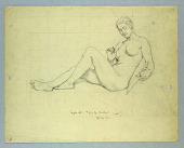 """view Nude Study of Graphic Art in Headband for """"American Illustration of Today"""" digital asset number 1"""