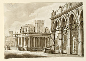 view Stage Design, Square with Public Building digital asset number 1