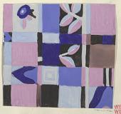 view Textile Design: Mandelkrähe (Roller) digital asset number 1